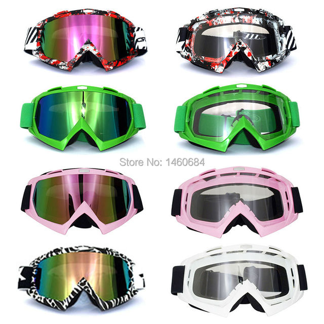 a475281d827 Evomosa Motorcycle Motocross Goggles Glasses for Helmet Racing Gafas Dirt  Bike ATV MX Goggles Clear Tinted