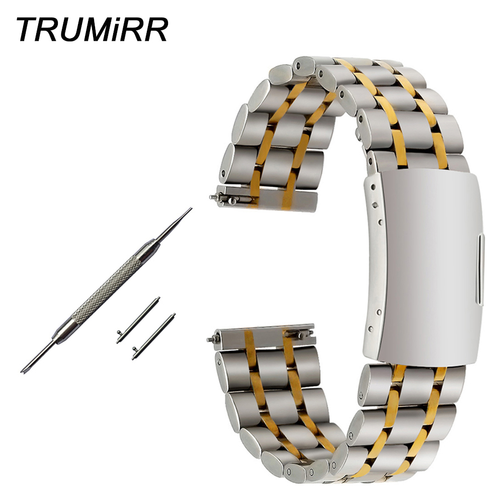 Quick Release Stainless Steel Watchband 18mm 20mm 22mm for Tissot Longines Mido Luminox Rado Watch Band Wrist Strap Bracelet image