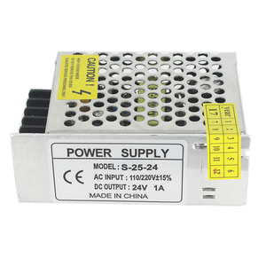 DC24V Power supply Switching 1a 24w LED Power Adapter Driver Transformer 100-240v ac-dc 24v SMPS For Led Light Lamp CNC