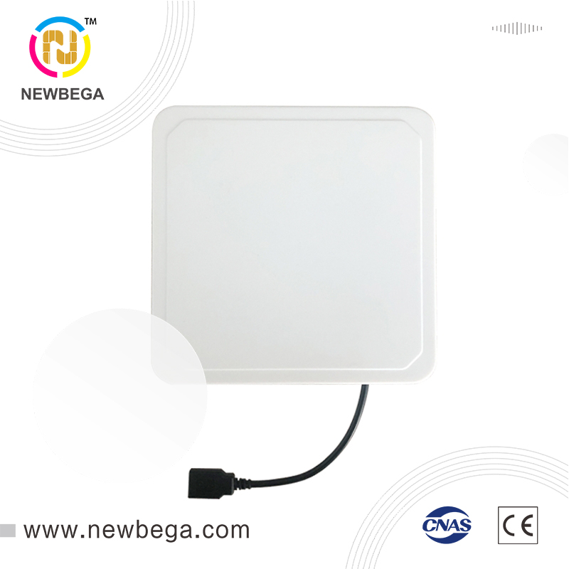 RFID UHF Card Reader Include Software 6C Passive Tag Intelligent One Machine Personnel Attendance Identification Free Shipping