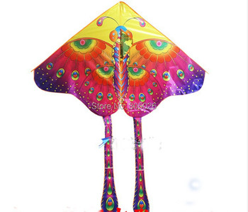 free shipping high quality pretty butterfly kite with handle line flying higher weifang kite outdoor toys wei albatross kite toy цена 2017