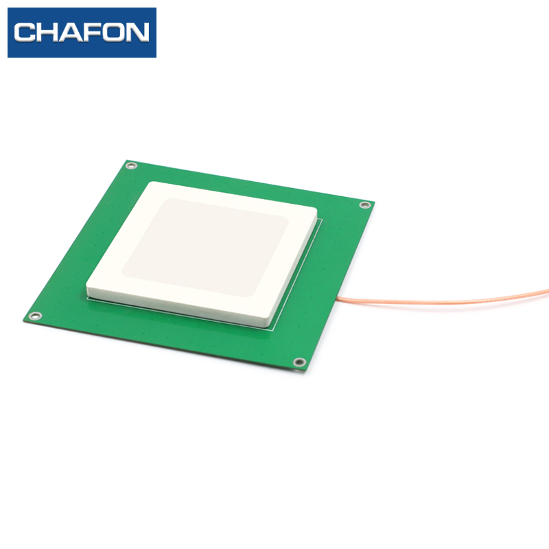 CFAFON 80mm 80mm 6dBi ceramic 915mhz rfid antenna with RHCP polarization used for warehouse management