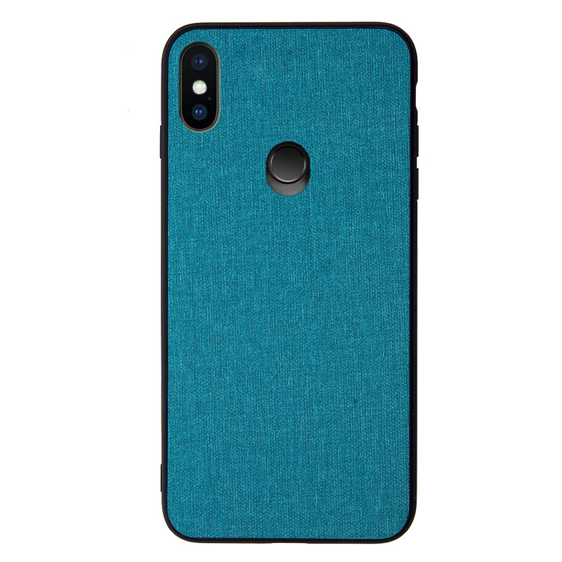 For Xiaomi mi mix 3 Case Luxury fabric Cloth silicone TPU Hard PC protective back cover Coque For Xiaomi Mi MIX3 MIX 3 Cover in Fitted Cases from Cellphones Telecommunications