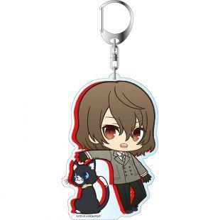 Free Tachibana Makoto Acrylic Keychain Key Ring Two Faces Bag Ornament Keyring