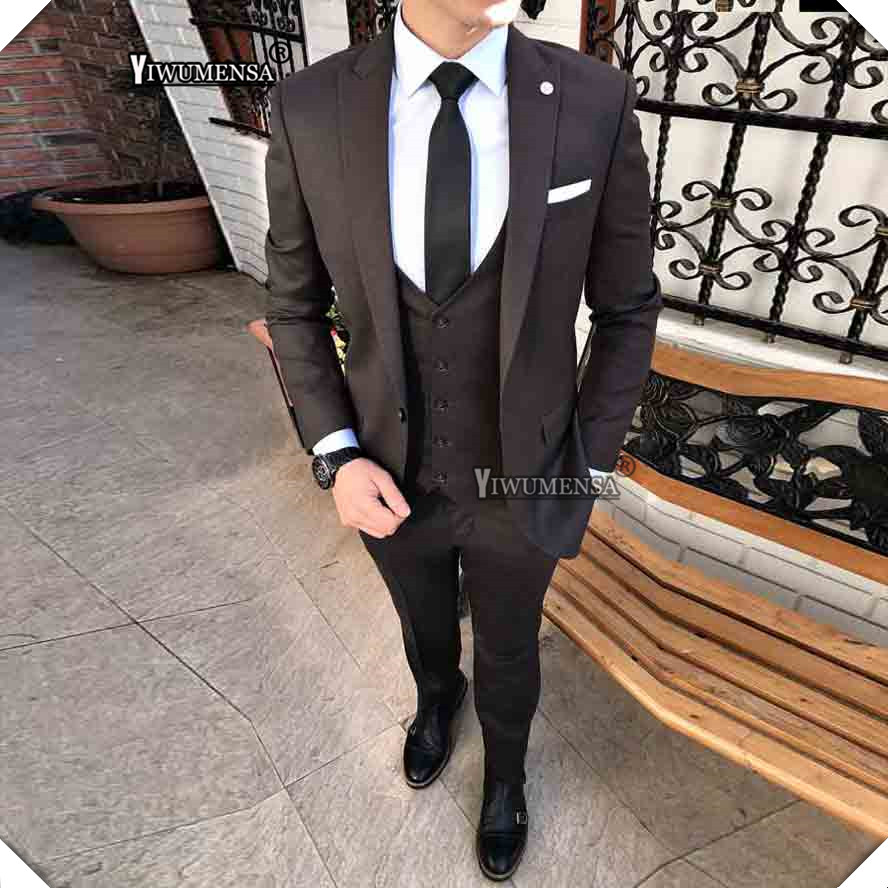 Wedding Suits for men Formal Suit Groom Tuxedos Tailcoat Groom Suits Custom Made