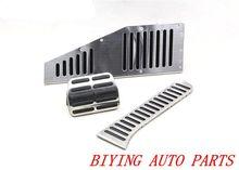 FOR RHD VW Golf 6 MK6 Jetta MK5 Scirocco Octavia PASSAT B6 B7 CC Stainless Steel Manual Transmission MT Pedal Pads Foot Rest