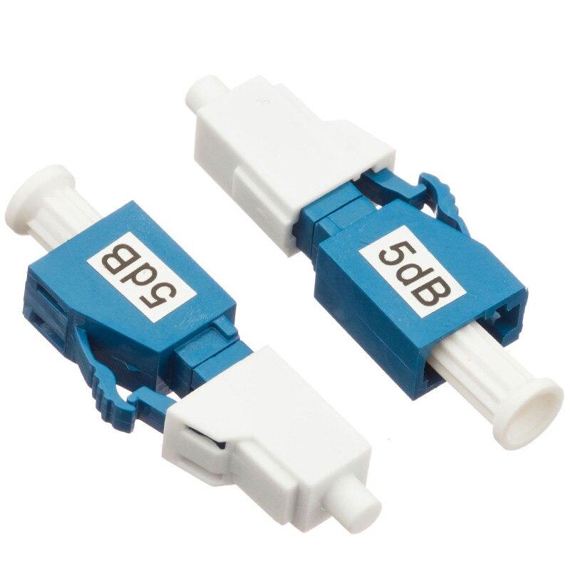 Image 5 - 10PCS LC UPC 5bd Simplex mode fiber optic Attenuator LC 5dB metal male Fiber Attenuator-in Fiber Optic Equipments from Cellphones & Telecommunications
