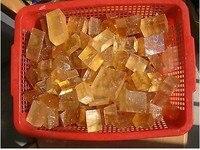 5000 г Желтый Оптический Кристалл Кальцита Исландский Шпат прозрачным 11lb, оптовые