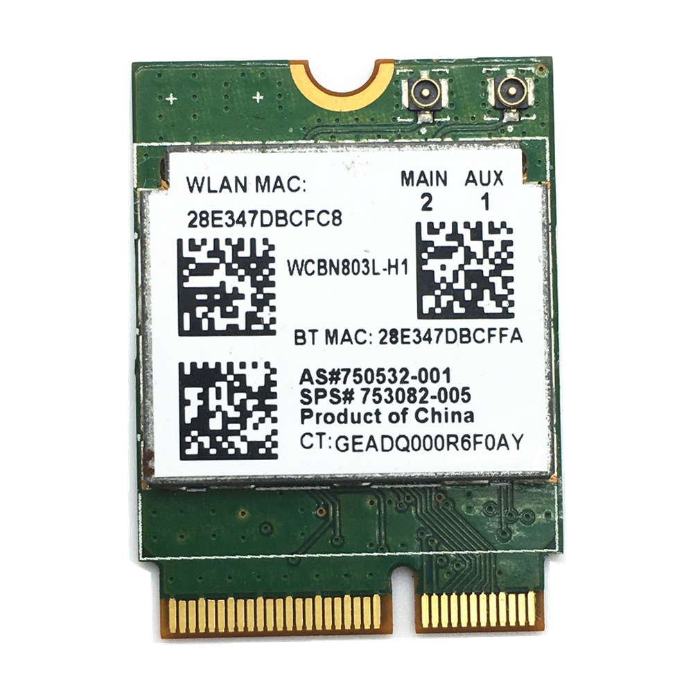 Realtek RTL8723BE 300Mbps NGFF/M.2 802.11/B/G/N Wireless Card For 240 256 430 440 450 G3