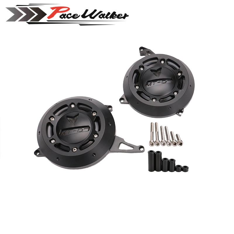 Motorcycle MT 07 Engine Stator Case Cover Engine Protective Cover Protector For YAMAHA MT-07 MT07 FZ-07 FZ07 4 Color alconstar motorcycle mt07 engine stator case cover engine protective cover protector case for yamaha mt 07 mt07 fz07 2014 2016