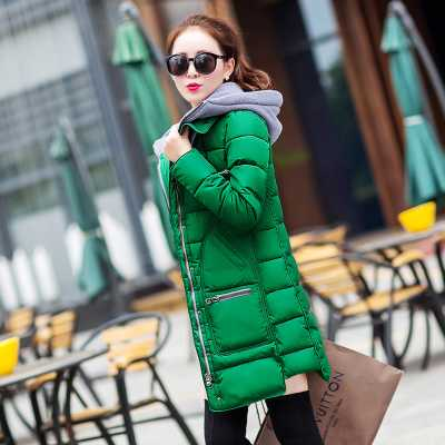 Plus Size Winter Jacket Women Cotton Parkas Big Size L-4XL Lady Hooded Coats Jaqueta Feminina Retail Cheap Outerwear A3863