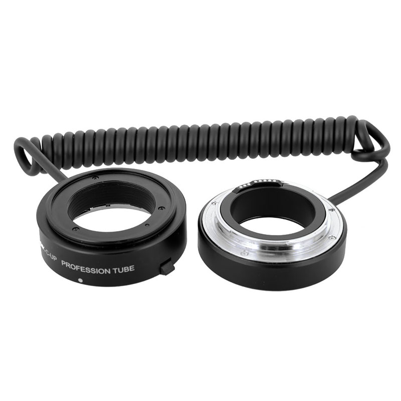 Meike MK C UP Auto Macro Extension Tube AF Reverse Ring Lens Adapter For Canon Camera