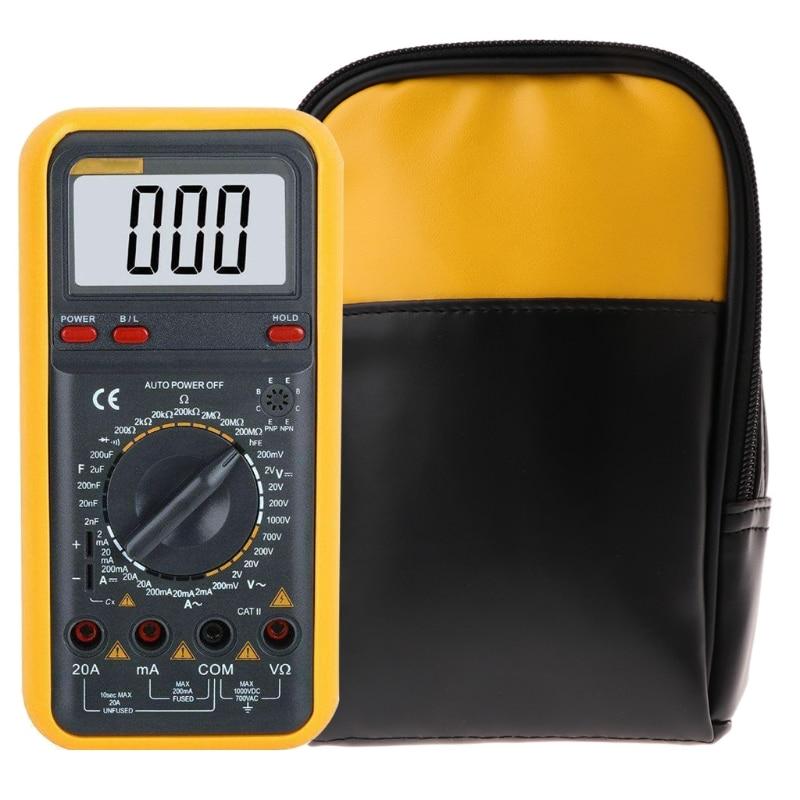 Soft Case Carry Bag For Handheld Multimeter 15B 17B 18B 115 116 117 175 177 179 Qiang