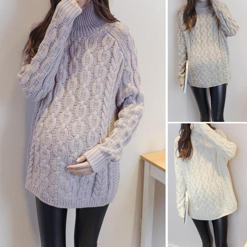 Fashion maternity Cotton Thicken sweater pullover clothes for pregnant women R2-18H