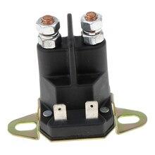 1 pçs da motocicleta/atv solenóide interruptor do relé de partida substituição para castelgarden substituir 18736100/0 3x2x2.6 Polegada