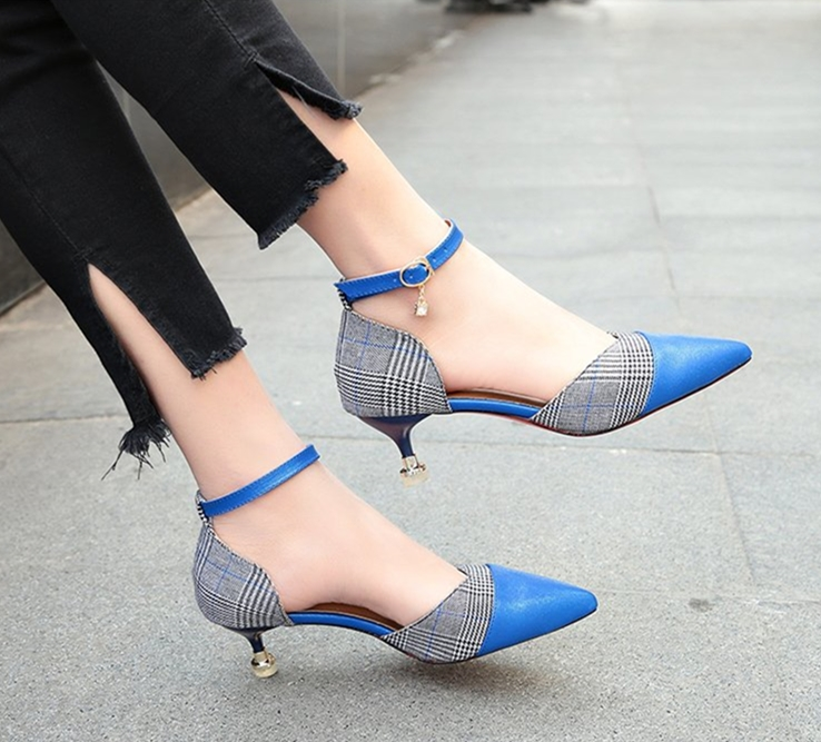 5CM size 34-39 Pointed Toe women banquet Pumps lady Wedding Party Shoes girl cloth Casual dancing party high heels XG0030 basic pump