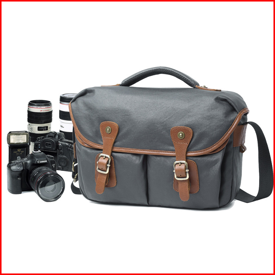 New Retro Casual Waterproof Canvas Photography SLR Camera Bag VS NG5160New Retro Casual Waterproof Canvas Photography SLR Camera Bag VS NG5160