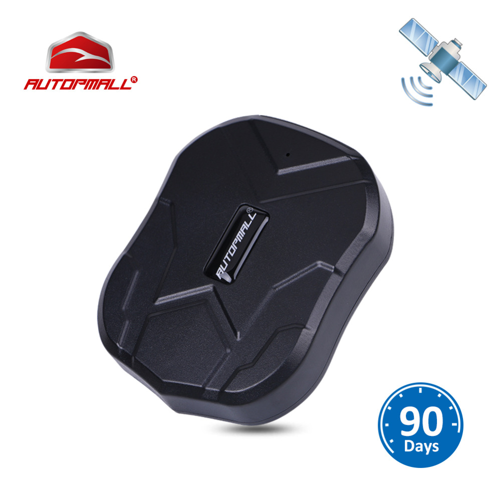 GPS Tracker Car Tracker Vehicle GPS Locator TK905 Waterproof Magnet Standby 90Days Real Time LBS Position Lifetime Free Tracking
