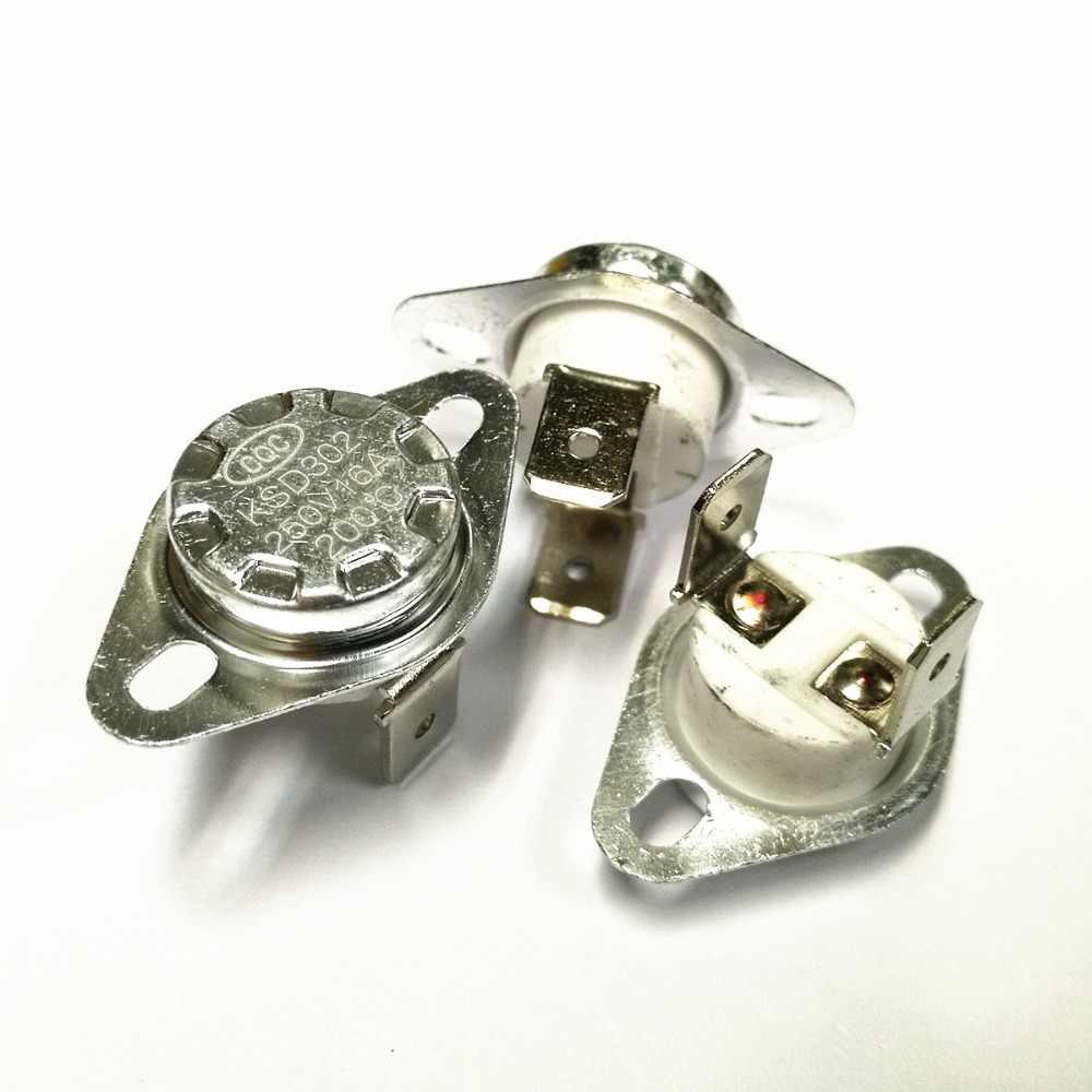 Thermo Switch Klixon Thermal Fuse Bimetal Switch bw//ksd301 no 80 ° c//65 ° C