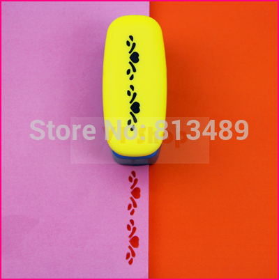 free shipping diy craft punch hole punch shapes perfuradores de papel decorative paper punch cutter border arts and crafts S3022 ...