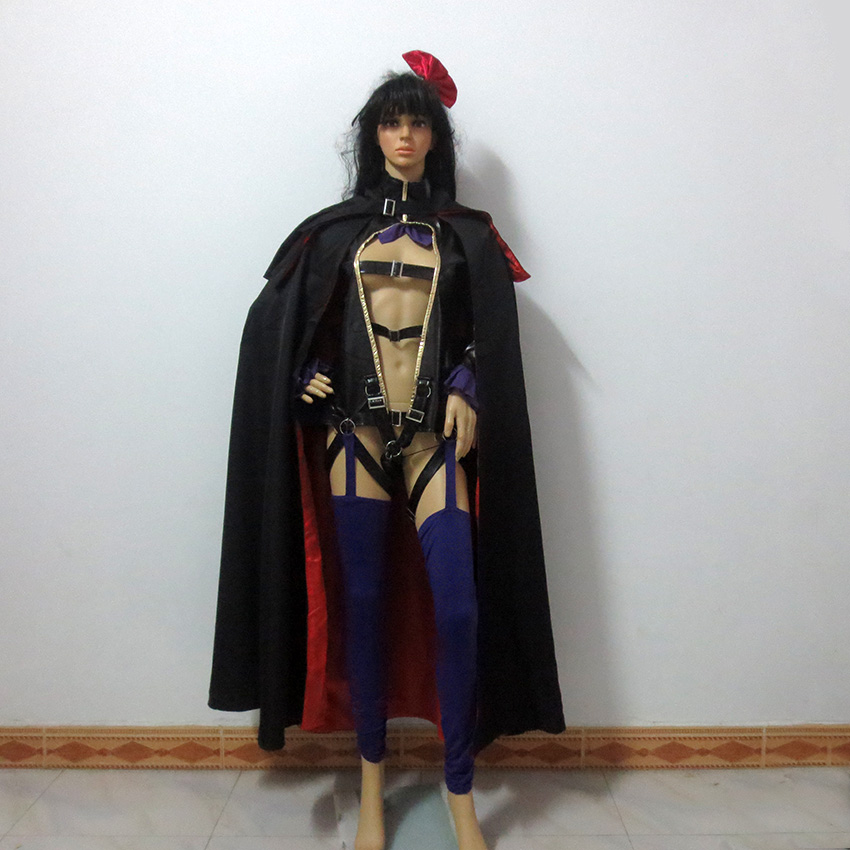 Macross Frontier Sheryl Nome Black Rabbit Christmas Party Halloween Uniform Outfit Cosplay Costume Customize Any Size