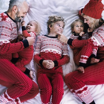 Navidad De La Familia Pijama Familia Ropa A Juego Madre Hija Ropa