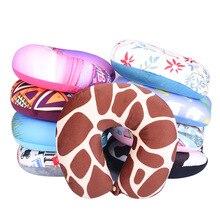 1 шт., подушки с узором, u-образная подушка для шеи, подушка с рисунком, Автомобильная подушка для шеи, подушка для путешествий, подушка для шеи