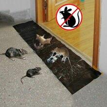 Большой размер супер липкая мышь для кошки-мышки грызун змея жуки клейкая ловушка подкладочный коврик не яд