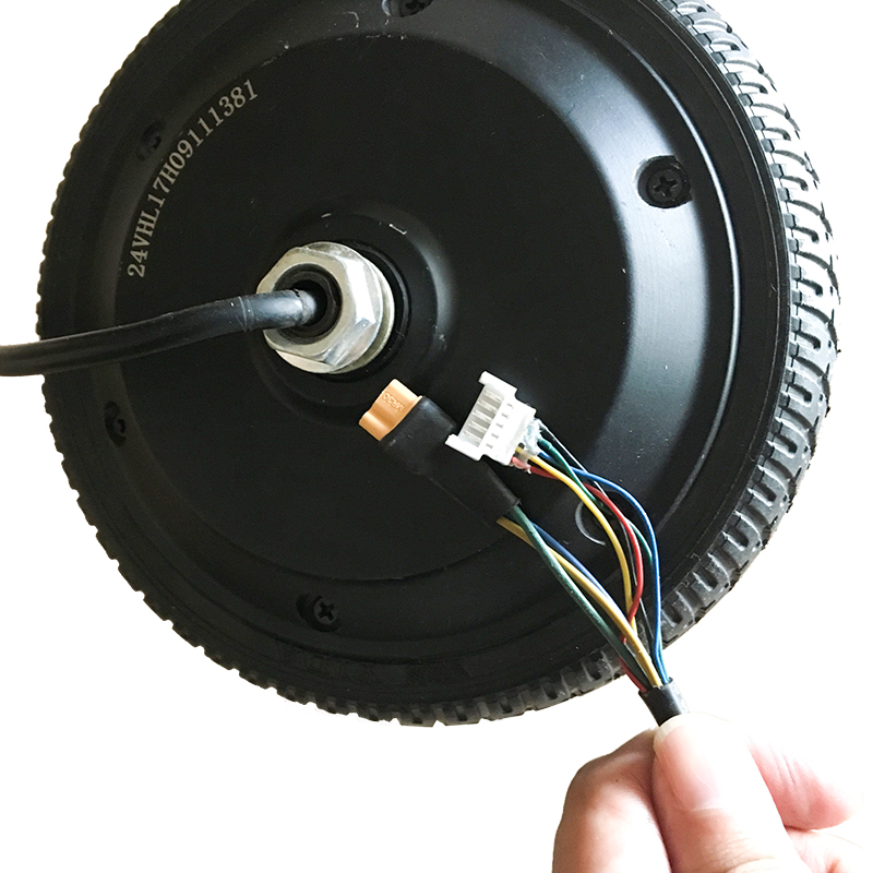 2018 New factory 6.5inch 1 wheel electric scooter motor,250W 24V cheap price hub motor