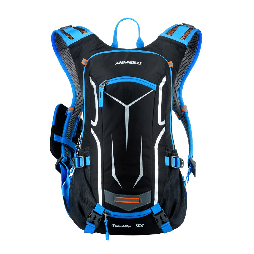 ANMEILU 18L Cycling Backpack Waterproof Climbing Backpack Rucksack Outdoor  Sports Travel Hydration Water Bag with Rain Cover-in Climbing Bags from  Sports ... 9cbb484999837