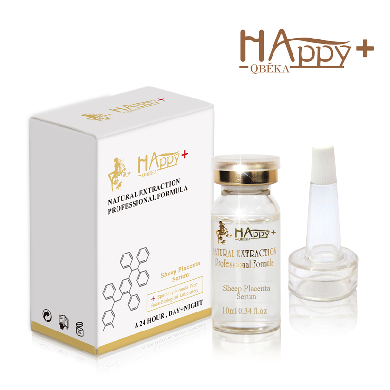 2PCS Sheep Placenta Serum For Dry Skin Anti-aging Anti-wrinkle Collagen Vitamin C Essence For Acne Skin With Firming Benefits