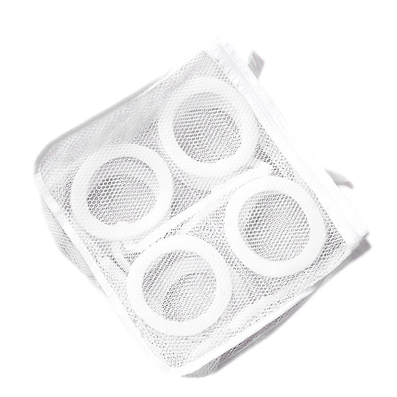 Hanging Dry Sneaker Mesh Laundry Bags Shoes Protect Wash Machine Home Storage Organizer Accessories Supplies Gear Stuff Produc