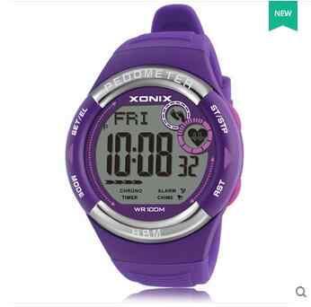 Mens Pedometer Calories Watch Heart Rate Monitor Sports Wristwatch Digital Running Women Outdoor Watch Unisex