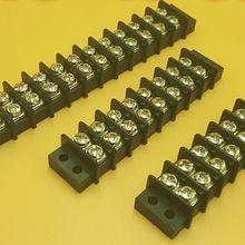 Клеммные колодки барьер 14 мм шаг двойной 1-12 позиция 41a 750 В 2-24 P 5 шт
