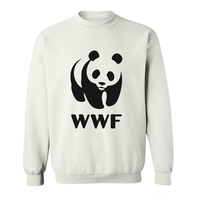 2017 Hipster Basic Tops Funny Wwf Funny Faces Panda Funny Hoodies Sweatshirts For Men