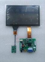 Carpc комплект 8 1024 600 ЖК дисплей высокое Яркость WIN7 WIN8 WIN10 Android емкостный Сенсорный экран HDMI + VGA + 2AV Реверсивный приоритет