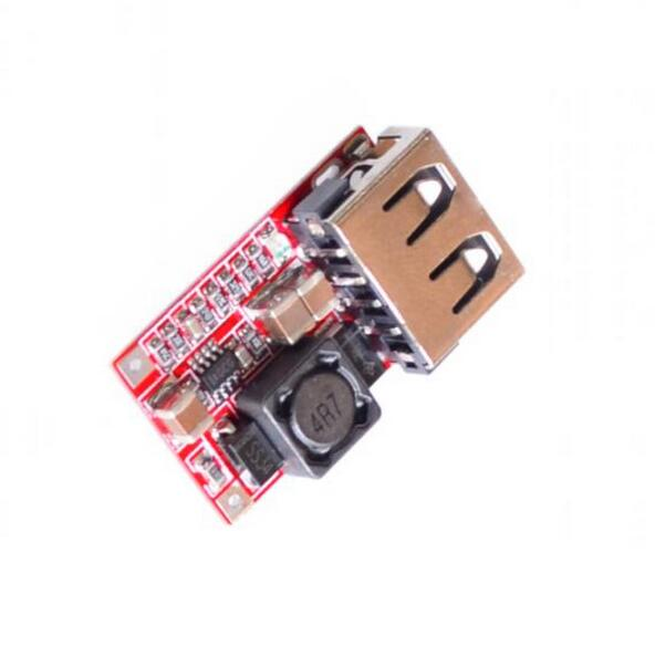 DC 6-24V 12V24v to 5V USB Output charger step down Power Module Mini DC-DC Step Up Boost Module Power Adjustable buck Converter