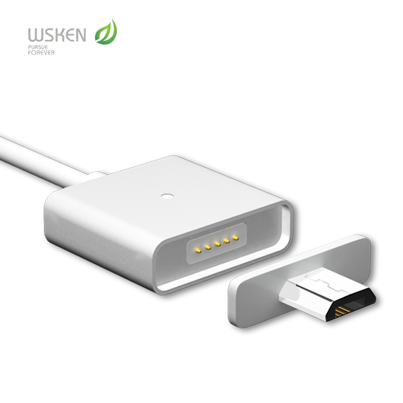 Original Wsken Micro USB cable charger cable For Android Universal Magnetic cable For huawei ZTE XiaoMi