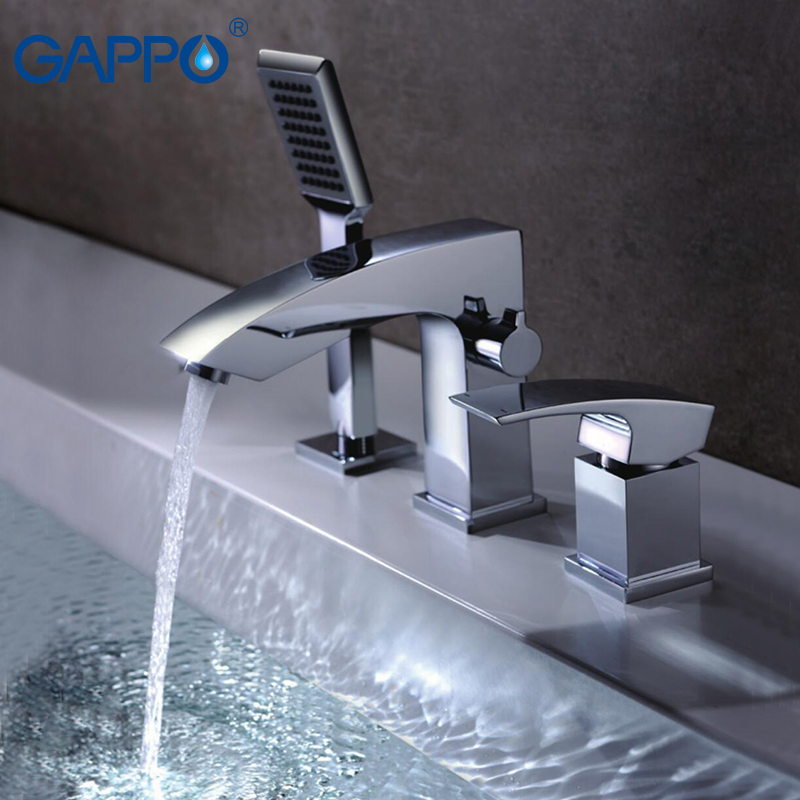 GAPPO bathroom shower faucet Bathtub Faucet tap bath shower set waterfall bathtub sink faucet water mixer sink taps shower mixer baolinlong classic styling brass bathroom shower faucet bathtub faucet tap bath shower set waterfall bathtub sink faucet water