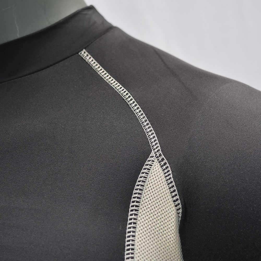 Черный-длинный рукав/дышащий купальный костюм с длинными рукавами рубашка UPF 50 Быстросохнущий Топ Купальники Рашгард 2019 серфинг Футболка для плавания