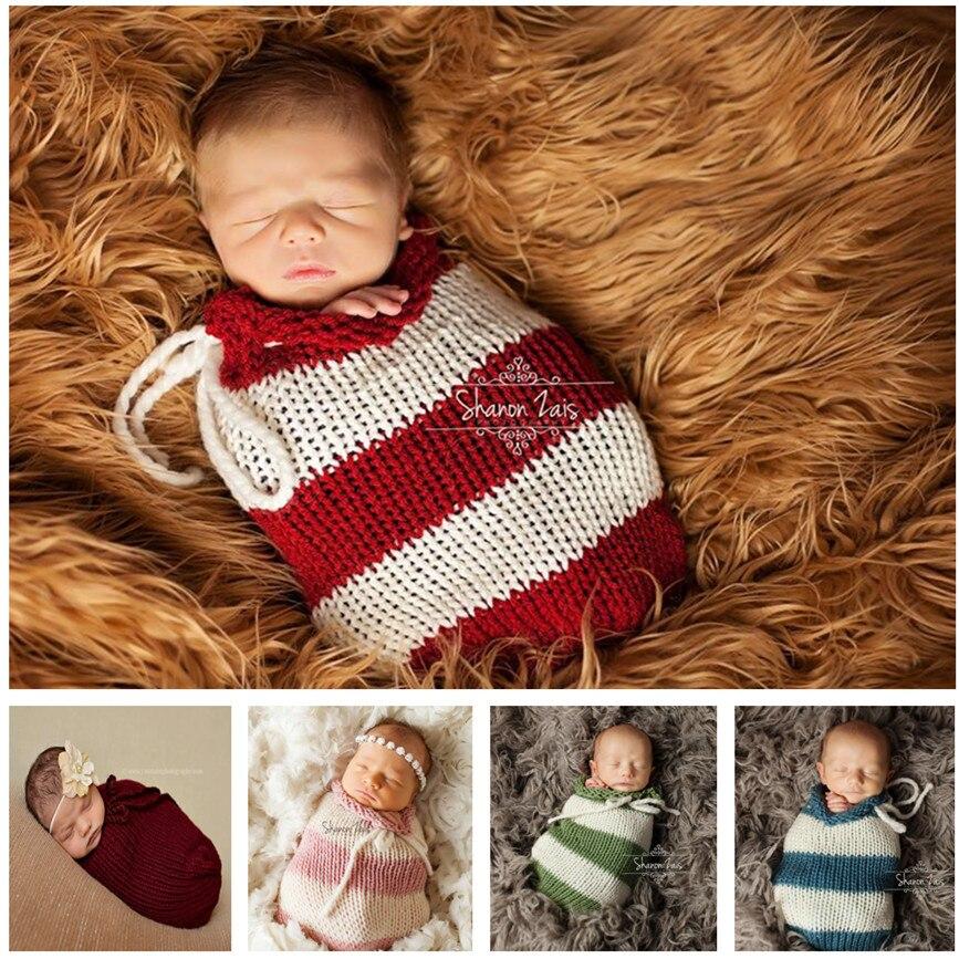 Jongens en meisjes 5 kleuren pakket pasgeboren baby mooie handgeweven - Beddegoed - Foto 1