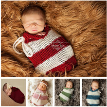 Boys and girls 5 colors parcel newborn infant lovely hand-woven cart sleeping bag indoor pictures