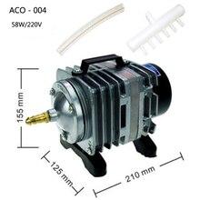 ACO-004 electromagnetic aquarium air pump 220V 58W pompe a airpump fish tank akvaryum pompasi