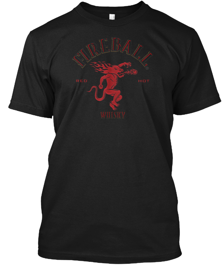 Fireball Beer Brewing Draft popular Tagless Tee T-Shirt