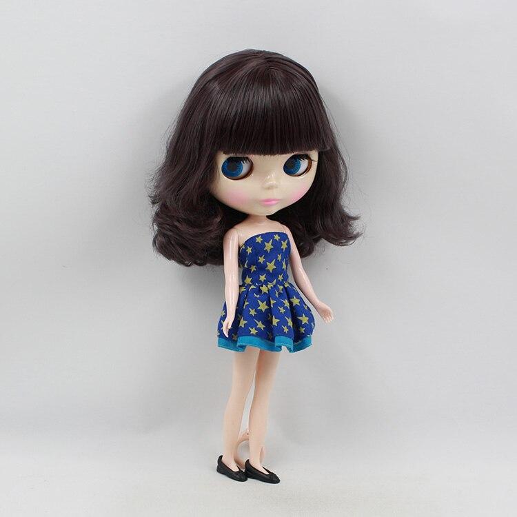 ФОТО Nude Blyth doll b female big eyes  short hair cute blyth doll diy toys for sale