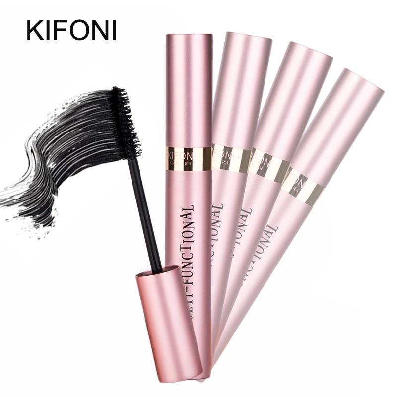 KIFONI makeup 4D Silk Fiber Lash Mascara Waterproof Rimel Mascara Eyelash Extension Black Thick Lengthening Eye Lashes Cosmetics 5