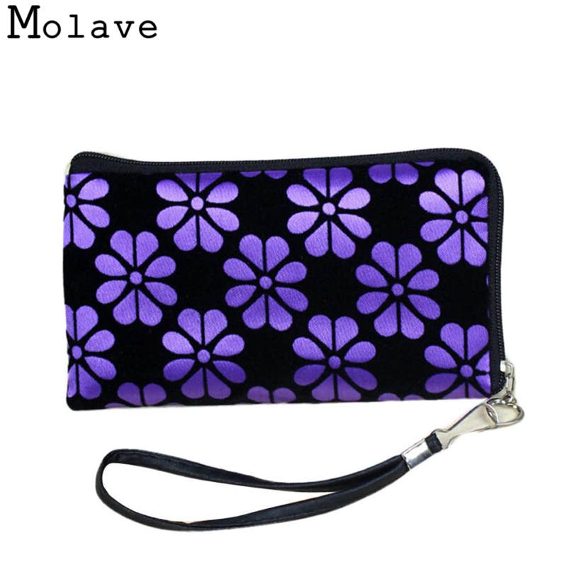Naivety Corduroy Square Coins Purses Flower Prints Coin Purse Zipper Wallet Multifunction Bag 30S71213 drop shipping цена