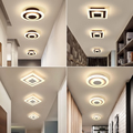 Современные светодиодные потолочные лампы для коридора  балкона  спальни  кабинета  lustre plafonnier  домашний деко  потолочный светильник  AC90-265V