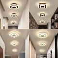 Moderne Led Decke Lichter Für Korridor Balkon Schlafzimmer Studie Zimmer glanz plafonnier Home Deco gang Decken Lampe AC90 265V-in Deckenleuchten aus Licht & Beleuchtung bei