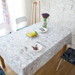 Image 4 - עלה בסגנון אירופאי מודפס מפת שולחן מלבני אוכל שולחן כיסוי Tafelkleed שולחן בד מסיבת חתונת בית מטבח דקור